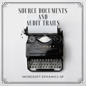 Source DocumentsandAudit Trails